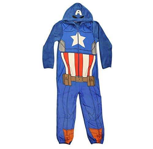 garcons-captain-america-combinaison-official-marvel-avengers-enfants-a-capuche-grenouillere-pyjama-b