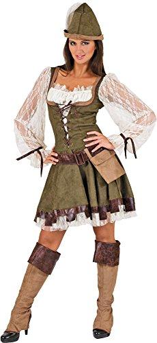 Robin Hood Lady Kostüm Damen Gr. 36 -