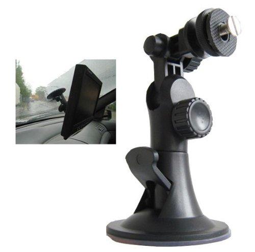 YMPA Monitorhalterung Monitor Halter Saugfuss Saugnapf Scheibe für Auto PKW LKW KFZ Wohnmobil Camper MH-SN (Für Monitor-halter Auto)