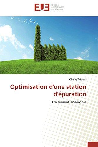 Optimisation d'une station d'épuration par Chafiq Tkiouat