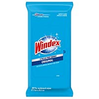 Windex Flat Pack Wipes, 3 Count