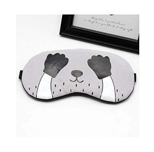 Sleeping Eye Mask Soft Padded Travel Shade Cover Rest Relax Sleeping Blindfold Cute Cat Eye Cover Fabric Sleep Mask Eyepatch C
