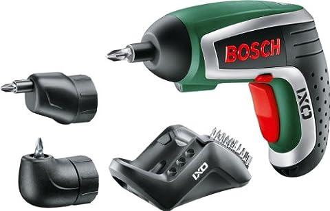 Bosch DIY Akku-Schrauber IXO Set (3,6 V, 1,5 Ah, inkl. Ladegerät, 10 Standard Schrauberbits) (Bosch Ixus)