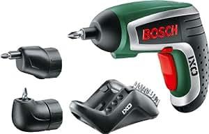 Bosch DIY Akku-Schrauber IXO 4. Generation, 10 Schrauberbits, Ladegerät, Metalldose (3,6 V, 1,5 Ah)