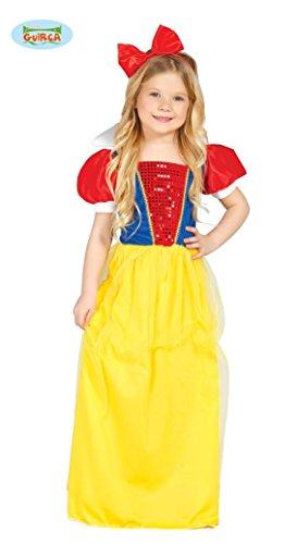 Schneewittchen - Kostüm für Mädchen Gr. 110 - 146, (Ideen Zwerge 7 Kostüme)