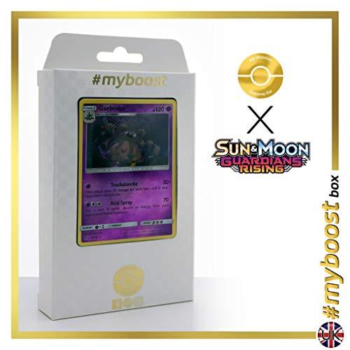 GARBODOR (DESPONITOX) 51/145 Wendbare Holo - #myboost X Sun & Moon 2 Guardians Rising - Box mit 10 englische Pokémon-Karten
