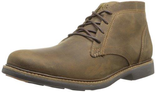 Skechers Morley, Sneakers Hautes homme Marron (Marron Foncé)