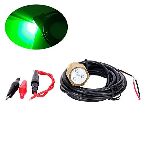 ignallicht Nachttauchen Gerätetauchen Marker LED Sicherheitslampe Cree Underwater Light, 3X3W, Garberfischen, Schwimmen, Tauchen Grün ()