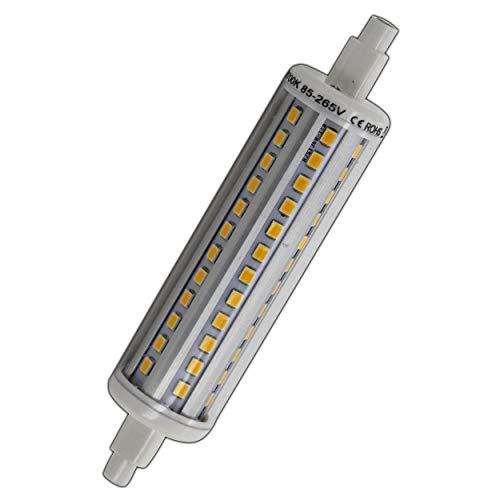 R7s LED Strahler 10 rund Watt warmweiß 118mm Leuchtmittel Lampe Halogen j118 Fluter Brenner Scheinwerfer Flutlicht