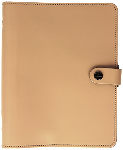 Filofax the Original A5 Organiser Patent (Nude Cream)