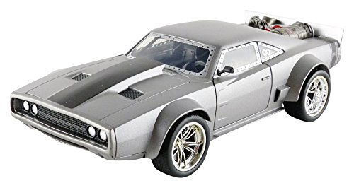 Jada Toys–Dodge Ice Charger–Dom–Fast and Furious 8–Maßstab 1:24–Grau– 98291S