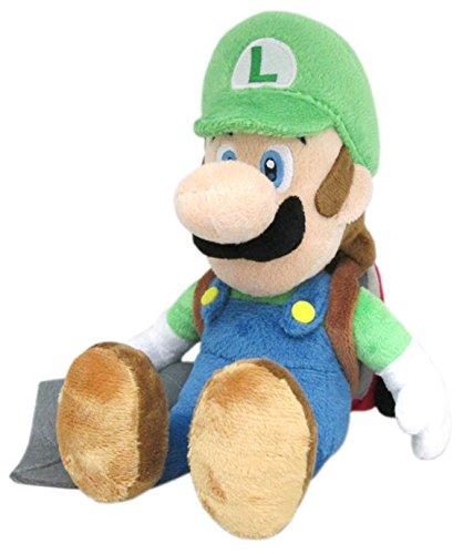 """Luigi with Ghost Vacuum Plush - Official Nintendo - 25cm 10"""""""