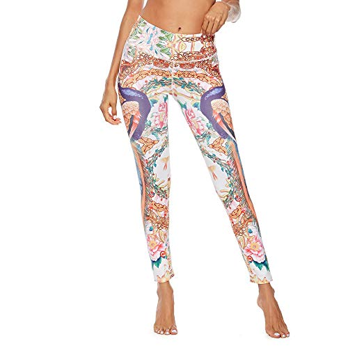 UFACE Hochwertige Mode gedruckte Yoga Workout Stretch Leggings Patterned Hosen