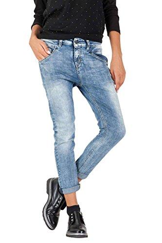 Meltin'Pot - Jeans LEIA D1669-UM395 für frau, straight leg form, loose fit, tiefer bund - größe W37/L30 (Größe hersteller:29)