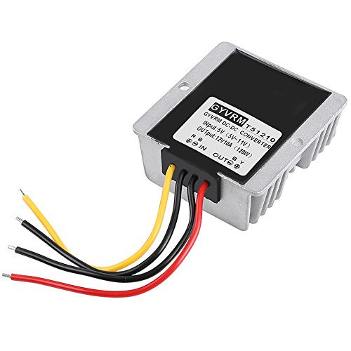 Hilitand DC-DC Boost Convertisseur Step Up 5V-12V 10A 120W Module d'alimentation d'Energie de Sortie Tension Réglable