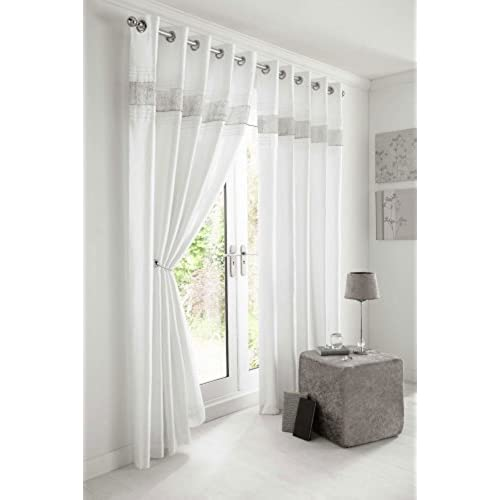 White Bedroom Curtains: Amazon.co.uk