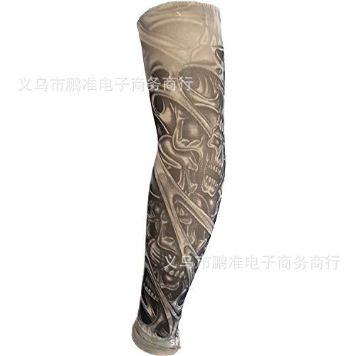 CXQ Tattoo Ärmel Rana Tattoo Ärmel Chinesischen Stil Tattoo Ärmel Große Blume Arm 3D Digital HD Tattoo, D79-1