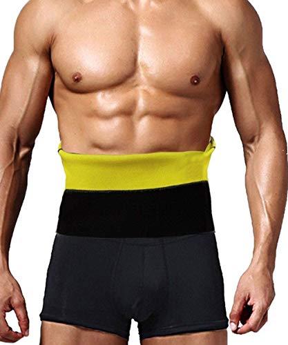 TINGSU Sauna Taille Trainer Taille Trimmer Gürtel Neopren Fatburner Abnehmen Schweiß Wrap Fitness Übung Gym Sport Gewicht Verlust Rückenstütze