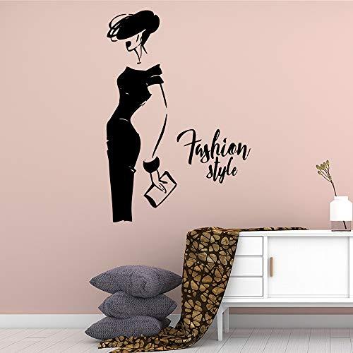 Moda creativa laddy Wall Sticker Accessori decorazione della casa Soggiorno Camera dei bambini Poster murale