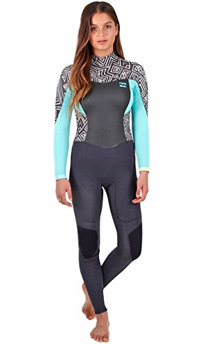 cded4c8f46 2017 Billabong Ladies Synergy 3 2mm Back Zip Wetsuit in Geo Diamond ...