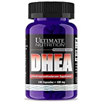 Ultimate Nutrition Dhea 100 mg with 100 Capsules (Pack of 2)