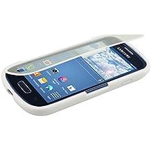 kwmobile Practical cuerpo completo de protección de TPU silicona para el > Samsung Galaxy S3 Mini i8190 < en blanco transparente - protección real completa para su > Samsung Galaxy S3 Mini i8190 <