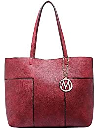 Mkf Collection Sadie Tote Bag By Mia K. Farrow (Red)
