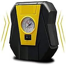 AWAKMER Inflador de neumáticos Bomba de compresor de Aire portátil para Coche 12v Inflador de Rendimiento