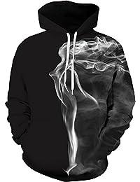 TDOLAH Homme Casual Sweats à Capuche Pull à Manches Longues Sweat-Shirts Hiver Fantaisie Hoodie Pochette