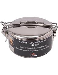 MSR Alpine Stowaway - Cacerola acero inoxidable Talla:775ml