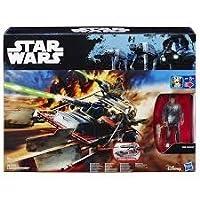 Hasbro B3674 Star Wars, vehículo Landspeeder