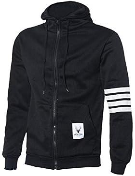 ZARU Masculinas sudaderas con capucha de marca de deportes juego de los hombres camiseta ocasional de las chaquetas...