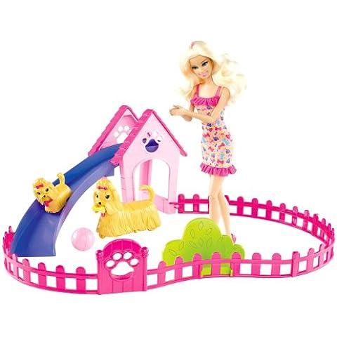 Barbie X6559 - Barbie Y Su Parque De Perritos (Mattel)