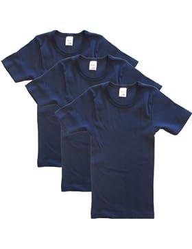 Hermko 2810Juego de camisetas para niños y adolescentes, 3 unidades, manga corta