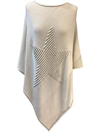 Fashion Women's Poncho Cape One size