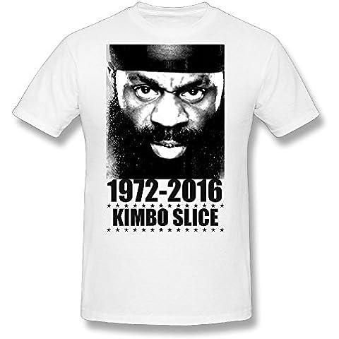 R.I.P Kimbo–Slice–Camiseta Negro listo para barco.–Alta calidad.