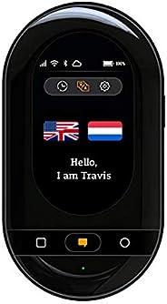 Travis Touch Go – Intelligenter Sprachübersetzer mit 155 Sprachen, eSIM, Touchscreen, 4G & Hotspot (Schw