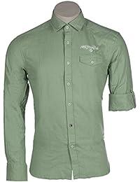 Arqueonautas Chemise Business Loisirs Taille S Couleur Granite Green 201244–3012S à 3X L