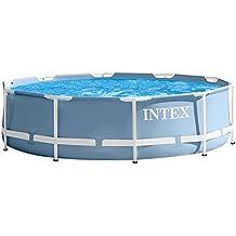 Intex 28702NP - Piscina desmontable con depuradora 305 x 76 cm, 4.485 litros