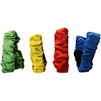 Cuerda elastico 4pcs tie for three - legged race juego