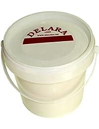 DELARA Grasa para cuero en cubos de 500 ml. Color: incoloro - Made in Germany