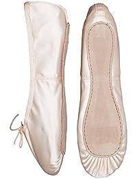 Capezio Ballet margarita rosa calzado completo único medio Fit satinado