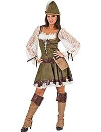 Robin Hood Lady Kostüm - Tolles Lady Marian Kostüm für Damen