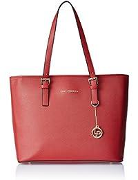 [Sponsored]Lino Perros Women's Handbag (Red) - B01MF6W2XP