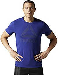 Reebok Wor Bl Sup-Tee T-Shirt-Homme