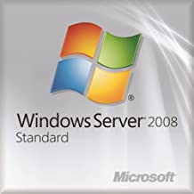 Microsoft OEM Windows Server Standard 2008 Edition R2 x64/64-Bit English DVD  (This OEM software is intended for system builders only)