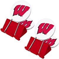 NCAA Wisconsin Badgers MyFanClip Multi Purpose Clips by MyFanClip