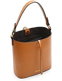 ECOSUSI Borsa a secchiello in pelle PU per donna Borsa a tracolla per borsa  da donna 782a18bf673