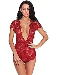 DOGZI Lencería Mujer Erotica Lenceria Mujer Erotica Set Sexy Bandage Clubwear Stripper Charol Ropa Interior Uniforme