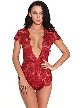 [Patrocinado]DOGZI Lencería Mujer Erotica Lenceria Mujer Erotica Set Sexy Bandage Clubwear Stripper Charol Ropa Interior Uniforme...